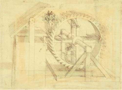 複数の弓を装備した歯車の素描.jpg