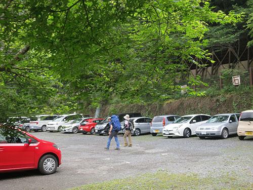 清滝の駐車場