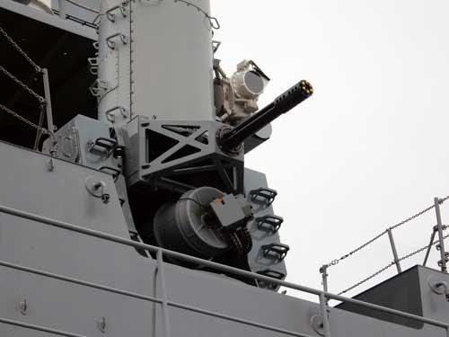 高性能20mm機関砲(CIWS)
