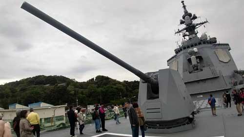 62口径5インチ砲